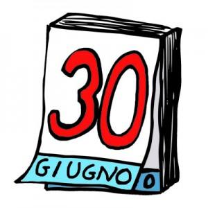SCADENZA 30 GIUGNO