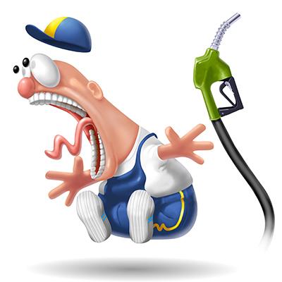 distributori di carburante benzinaio