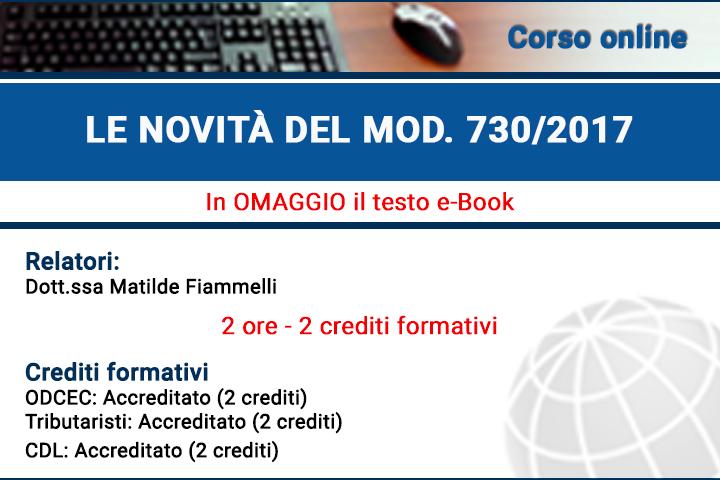 Home page fiscal focus a cura di antonio gigliotti for Novita 730 2017
