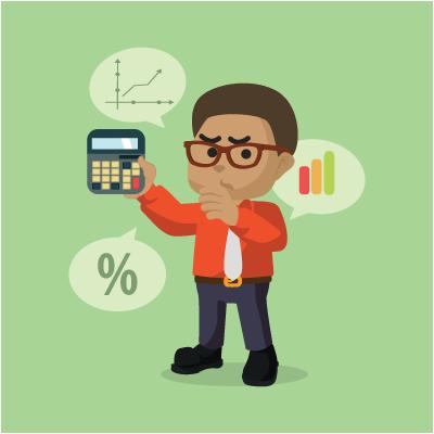 professionisti - percentuale -calcolo