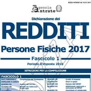 Redditi Pf 2017 Modalita E Termini Di Presentazione Della