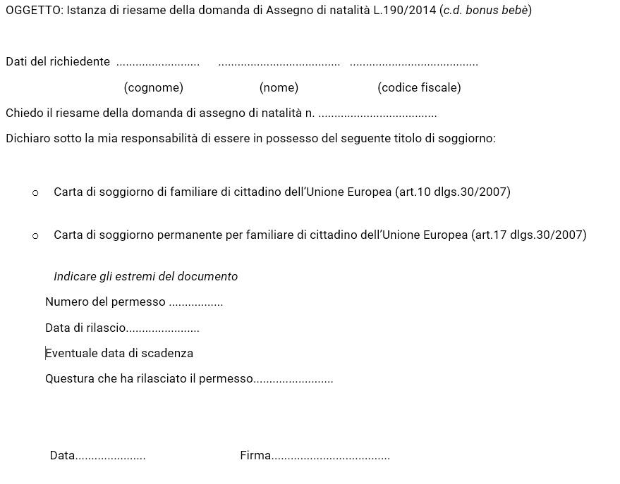 domanda di carta di soggiorno - 28 images - come richiedere i ...