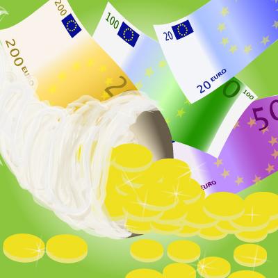 denaro soldi fisco ricchezza euro