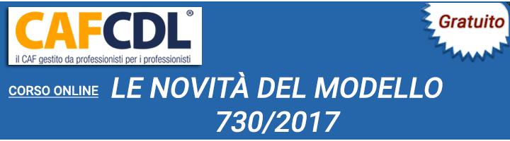 Corsi online fiscal focus a cura di antonio gigliotti for Novita 730 2017